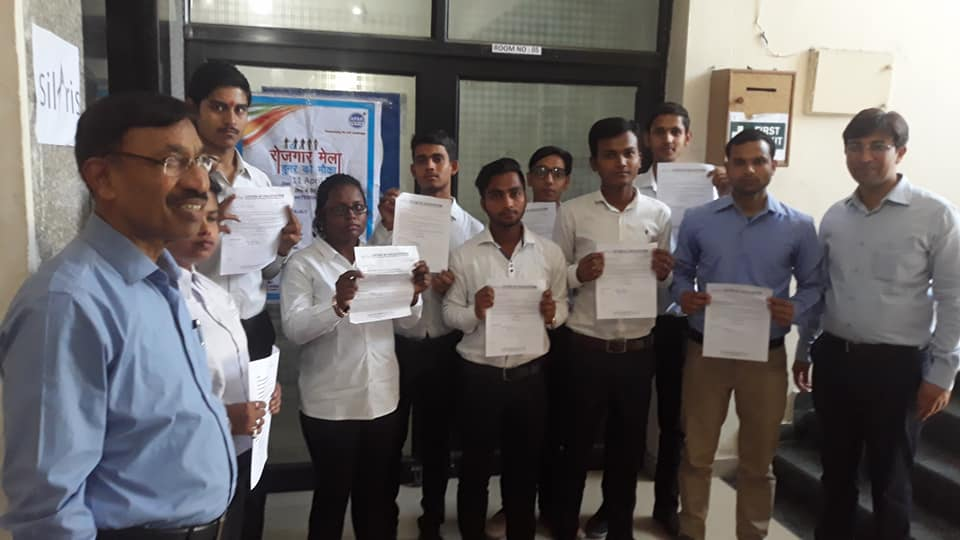 students with appointment letters