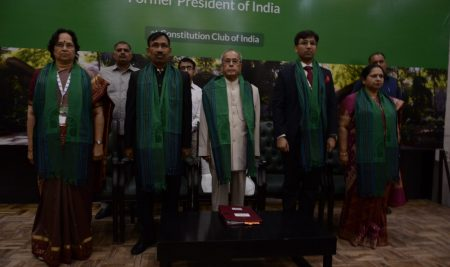 India's 13th President at Apar India's Graduation Ceremony